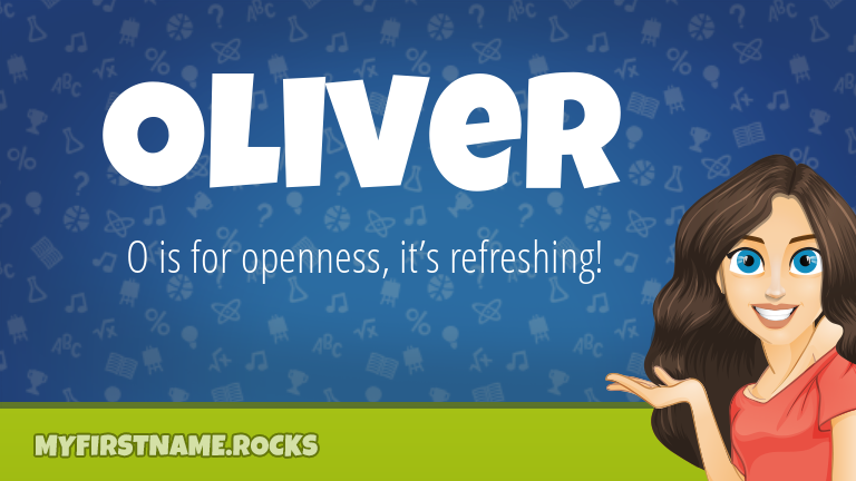 My First Name Oliver Rocks!