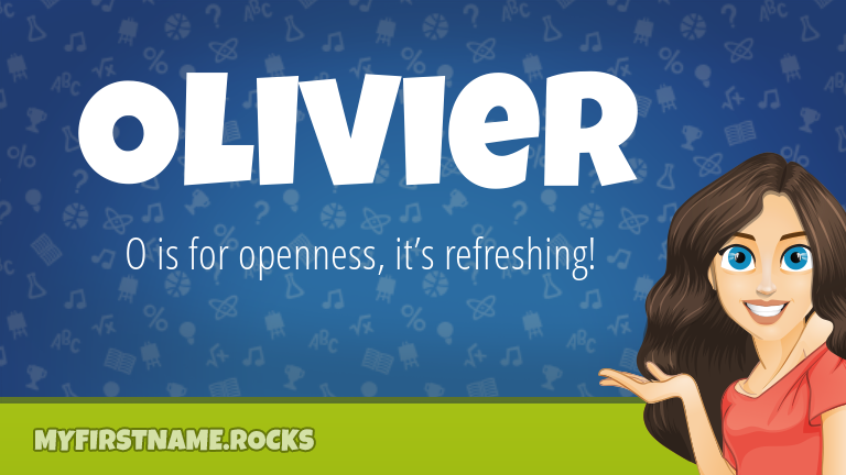My First Name Olivier Rocks!