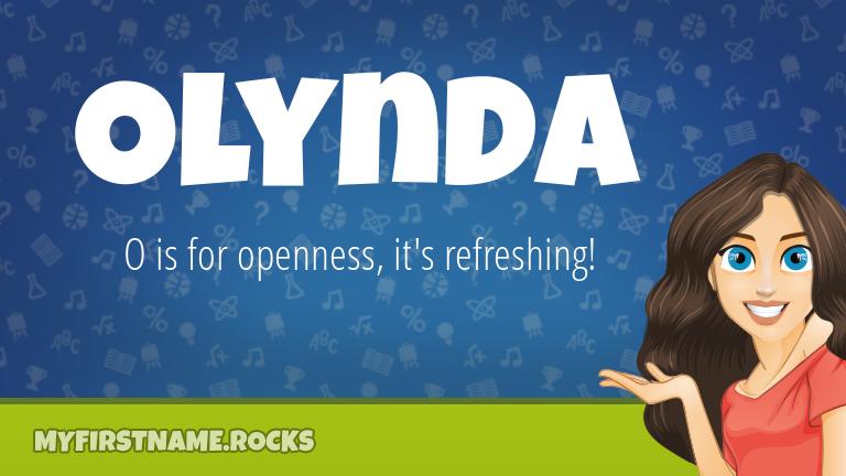 My First Name Olynda Rocks!