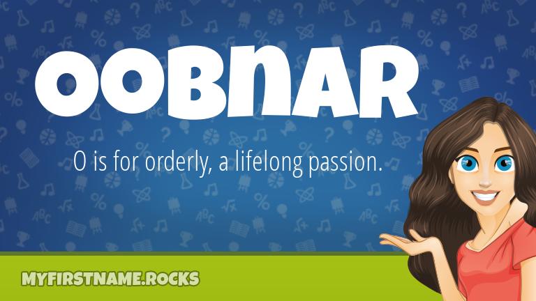 My First Name Oobnar Rocks!
