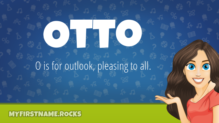 My First Name Otto Rocks!