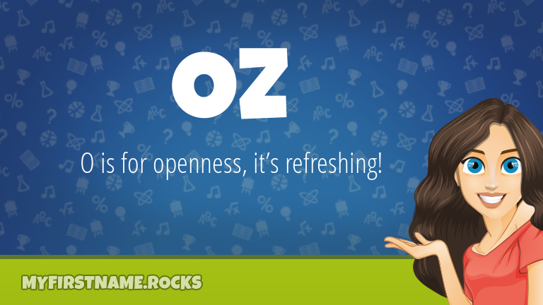 My First Name Oz Rocks!
