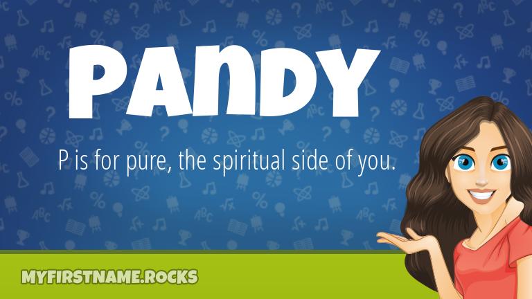 My First Name Pandy Rocks!