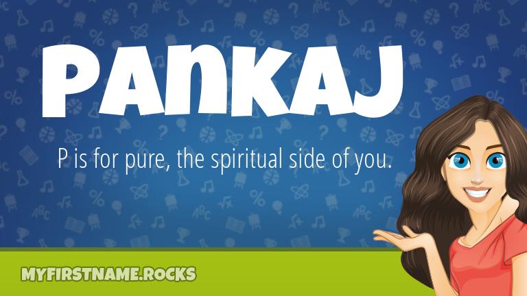 My First Name Pankaj Rocks!