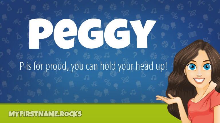 My First Name Peggy Rocks!