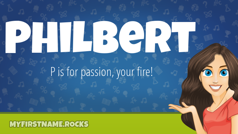 My First Name Philbert Rocks!