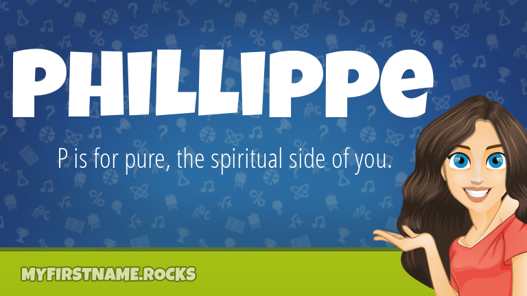 My First Name Phillippe Rocks!