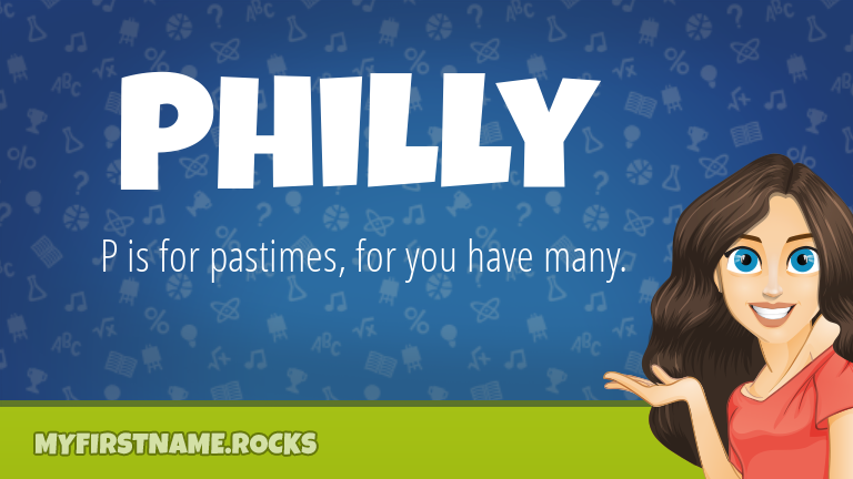My First Name Philly Rocks!