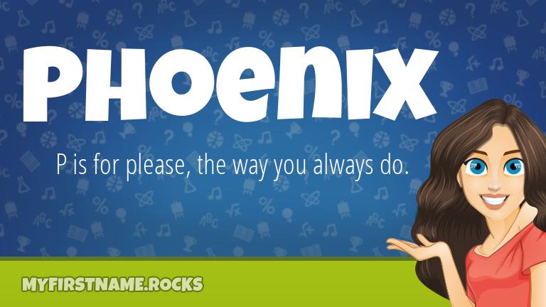 My First Name Phoenix Rocks!