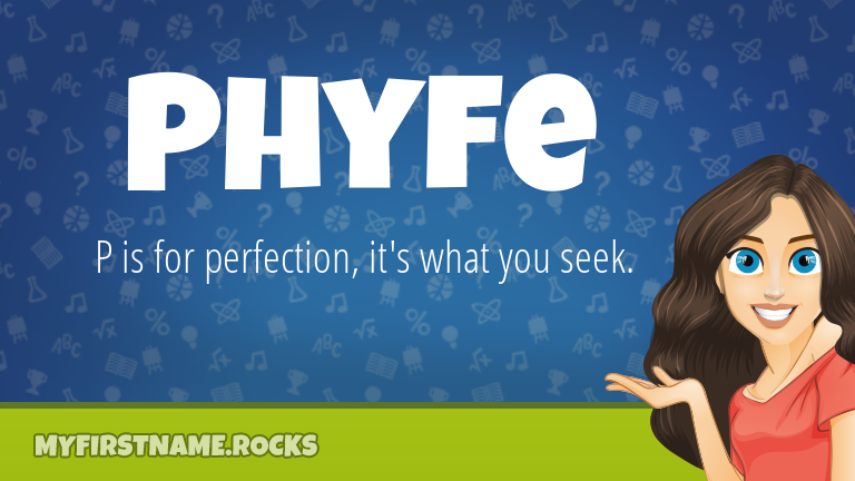 My First Name Phyfe Rocks!