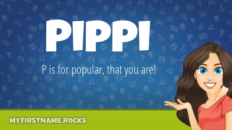 My First Name Pippi Rocks!