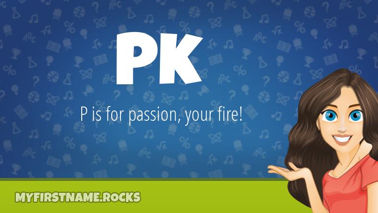 My First Name Pk Rocks!