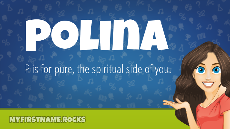 My First Name Polina Rocks!