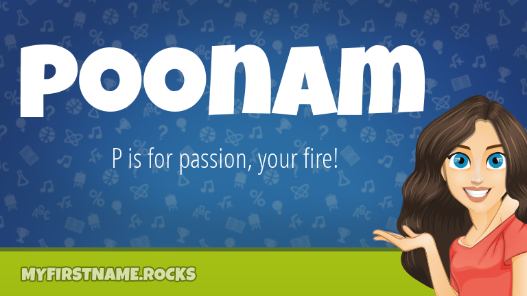 My First Name Poonam Rocks!