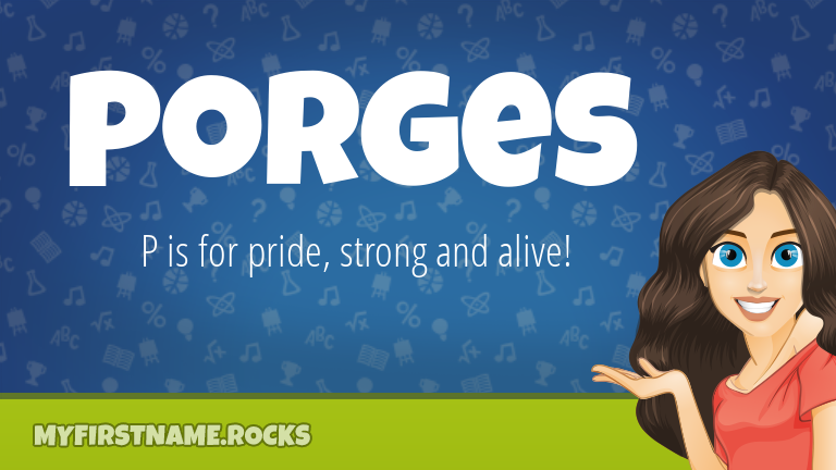 My First Name Porges Rocks!