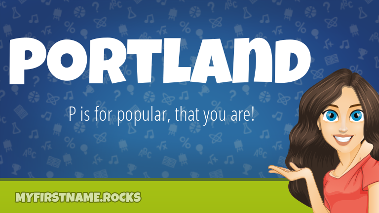 My First Name Portland Rocks!