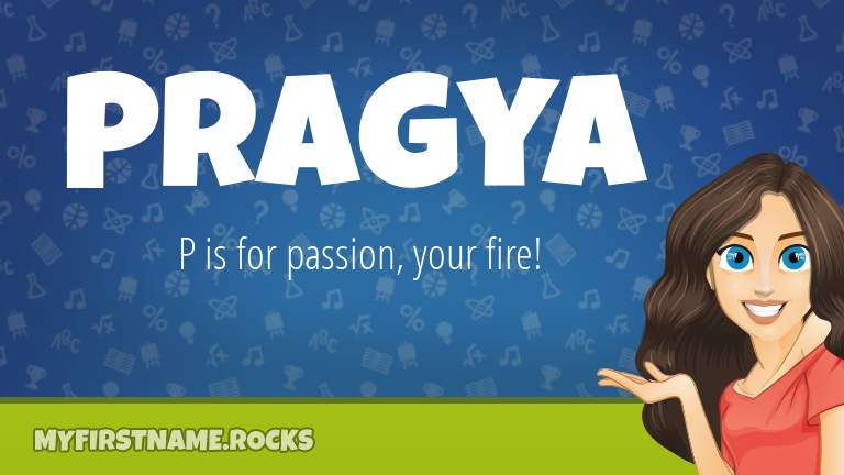 My First Name Pragya Rocks!