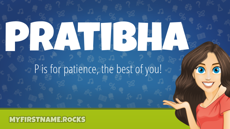 My First Name Pratibha Rocks!