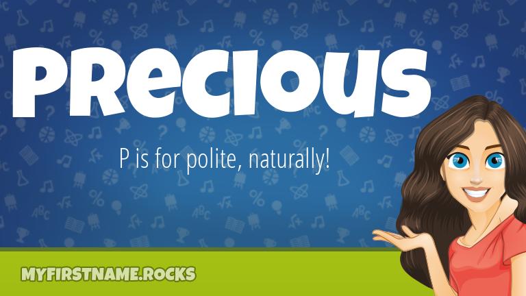My First Name Precious Rocks!