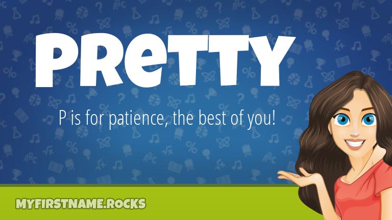 My First Name Pretty Rocks!