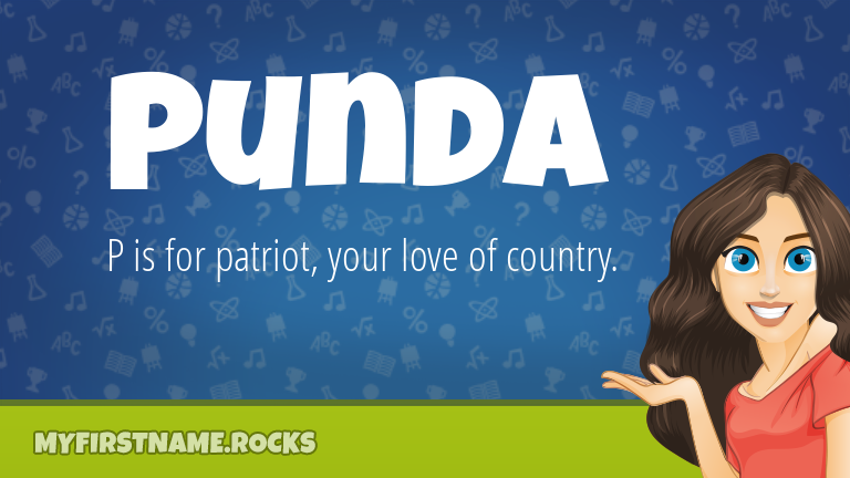 My First Name Punda Rocks!