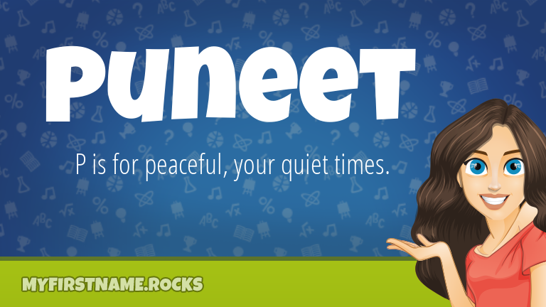My First Name Puneet Rocks!