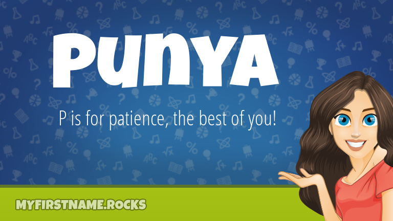 My First Name Punya Rocks!
