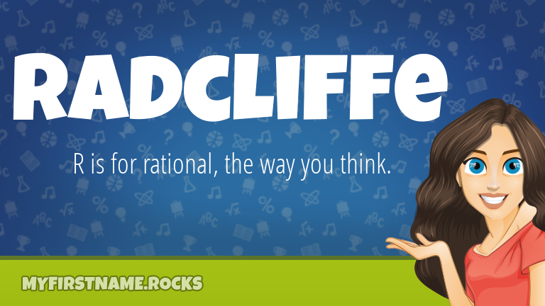 My First Name Radcliffe Rocks!