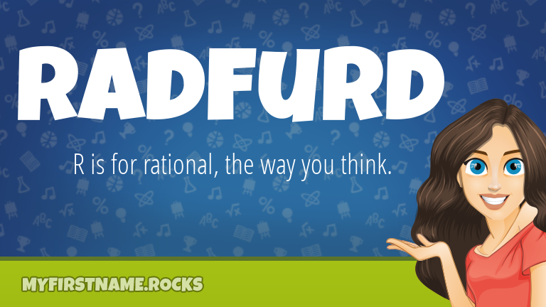 My First Name Radfurd Rocks!