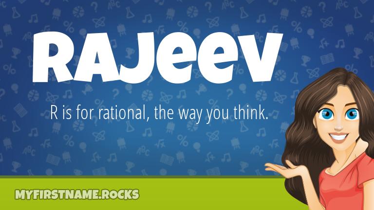 My First Name Rajeev Rocks!