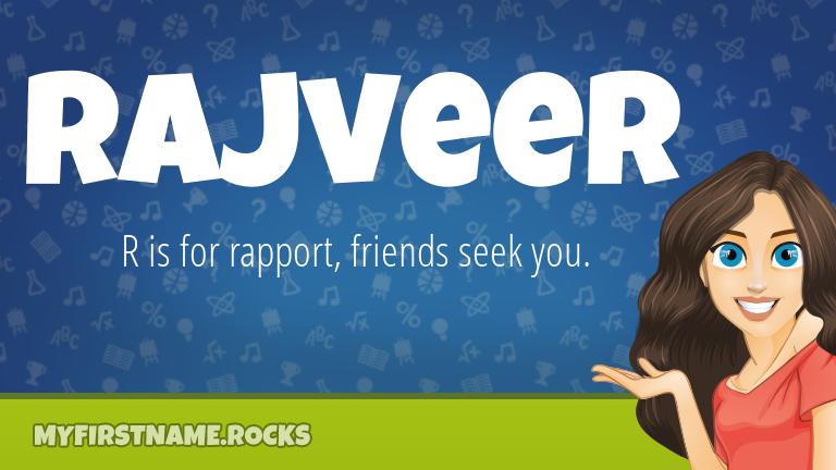 My First Name Rajveer Rocks!