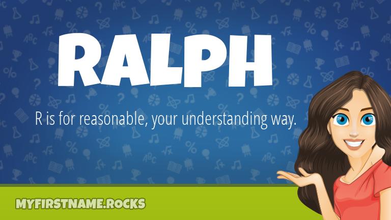 My First Name Ralph Rocks!
