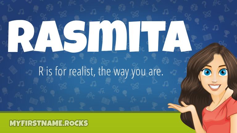 My First Name Rasmita Rocks!