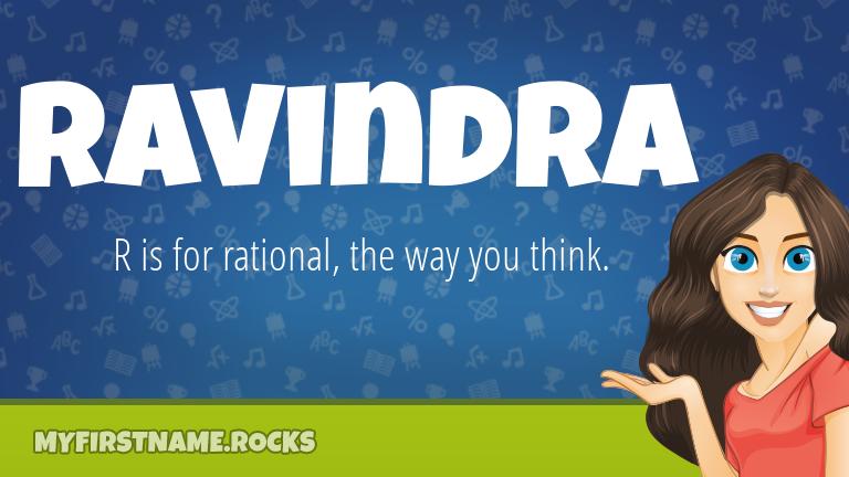 My First Name Ravindra Rocks!