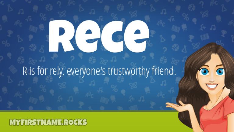 My First Name Rece Rocks!