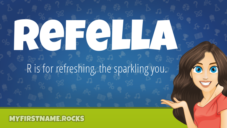 My First Name Refella Rocks!