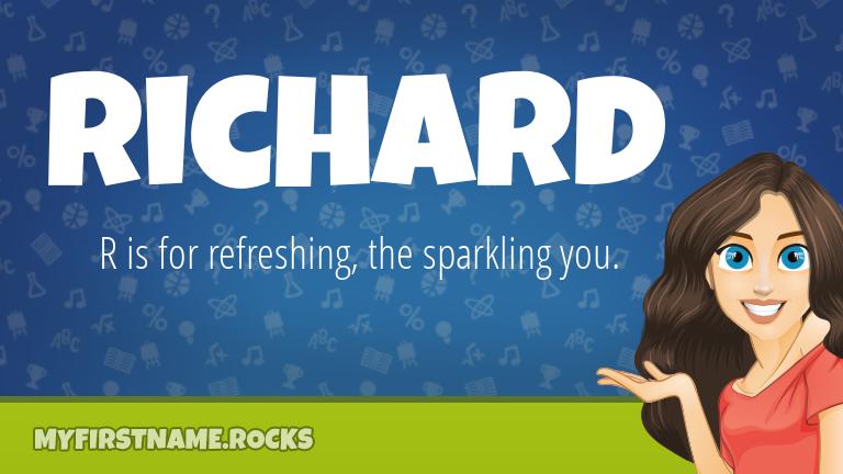 My First Name Richard Rocks!