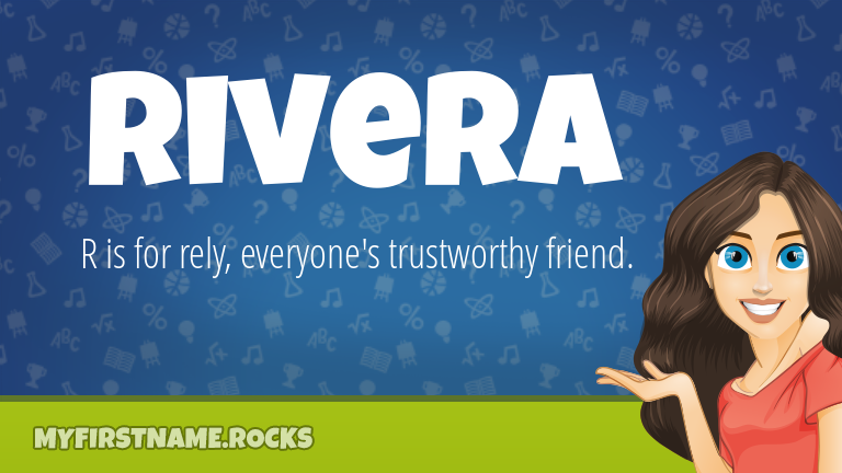 My First Name Rivera Rocks!
