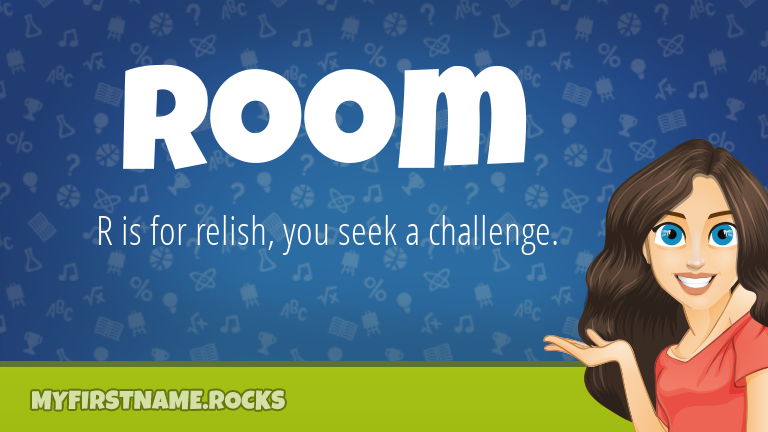 My First Name Room Rocks!