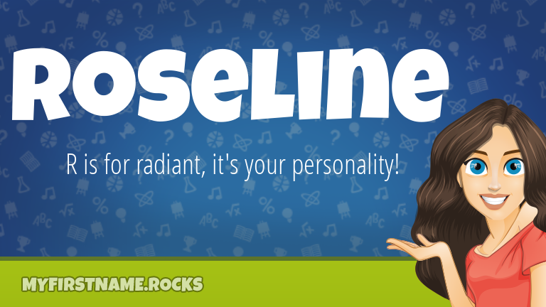 My First Name Roseline Rocks!