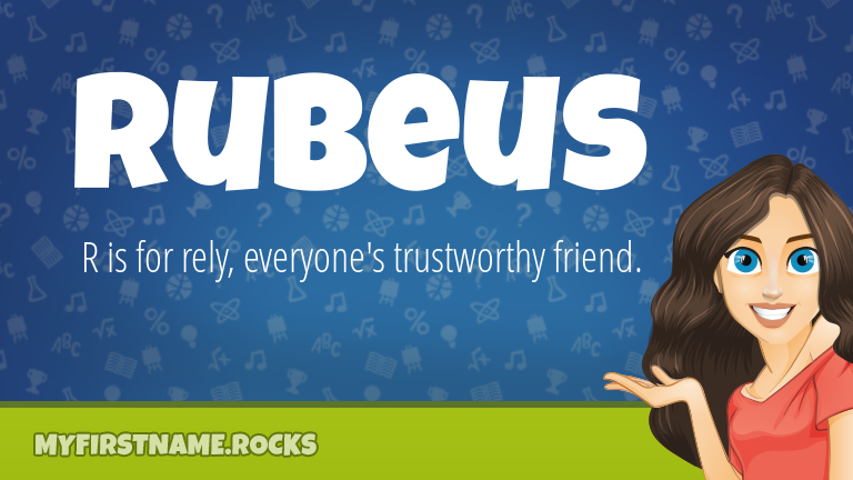 My First Name Rubeus Rocks!