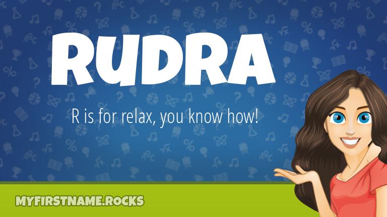 My First Name Rudra Rocks!
