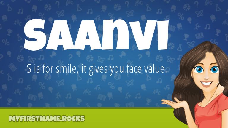 My First Name Saanvi Rocks!