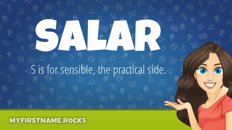My First Name Salar Rocks!