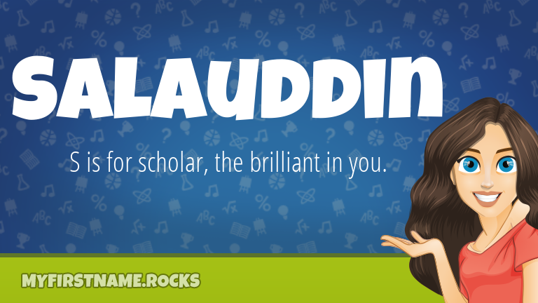 My First Name Salauddin Rocks!