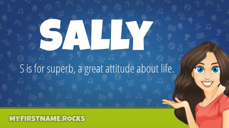 My First Name Sally Rocks!