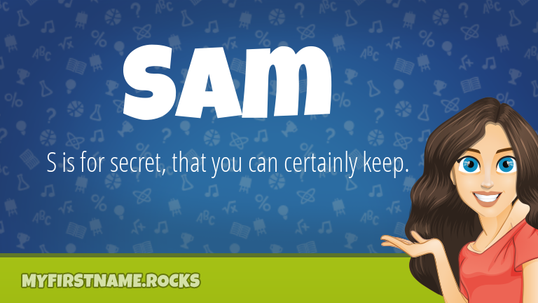 My First Name Sam Rocks!