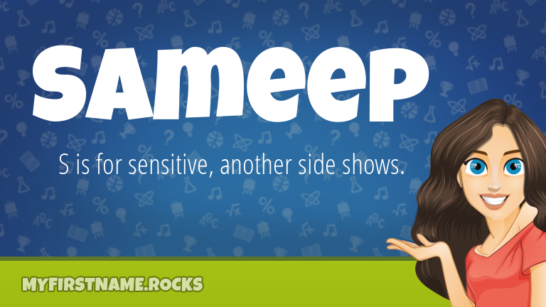 My First Name Sameep Rocks!