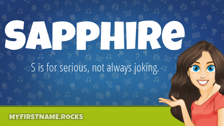 My First Name Sapphire Rocks!