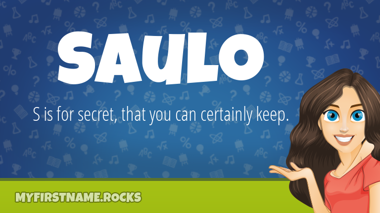 My First Name Saulo Rocks!